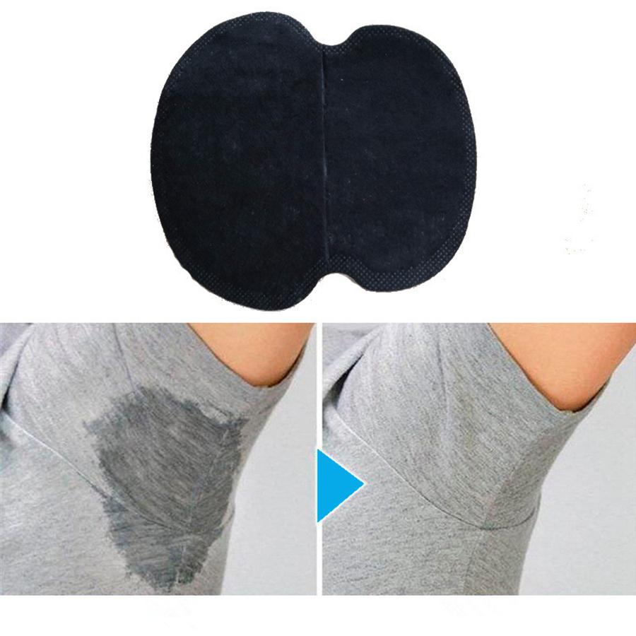 Summer Underarm Armpit Sweat Pads Dress Disposable Stop Sweat Guard  Absorbing Cotton Pads Underarm Shields 4 colors RRA1180