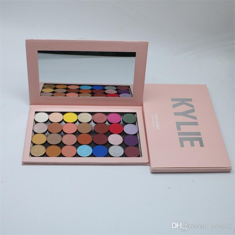 DHL KYLIE28 color eyeshadow kally removable magnet eyeshadow disc pearl light matte store new high quality on the market