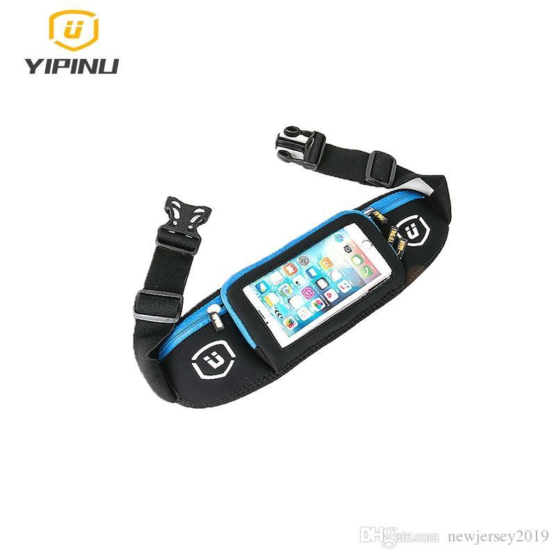 Yipinu Men Women Running Waist Bags Gym Jogging Sport Touch Screen Bag For Iphone 7 Plus Mobile Phone Bag Belt Pouch Relojes Y Joyas
