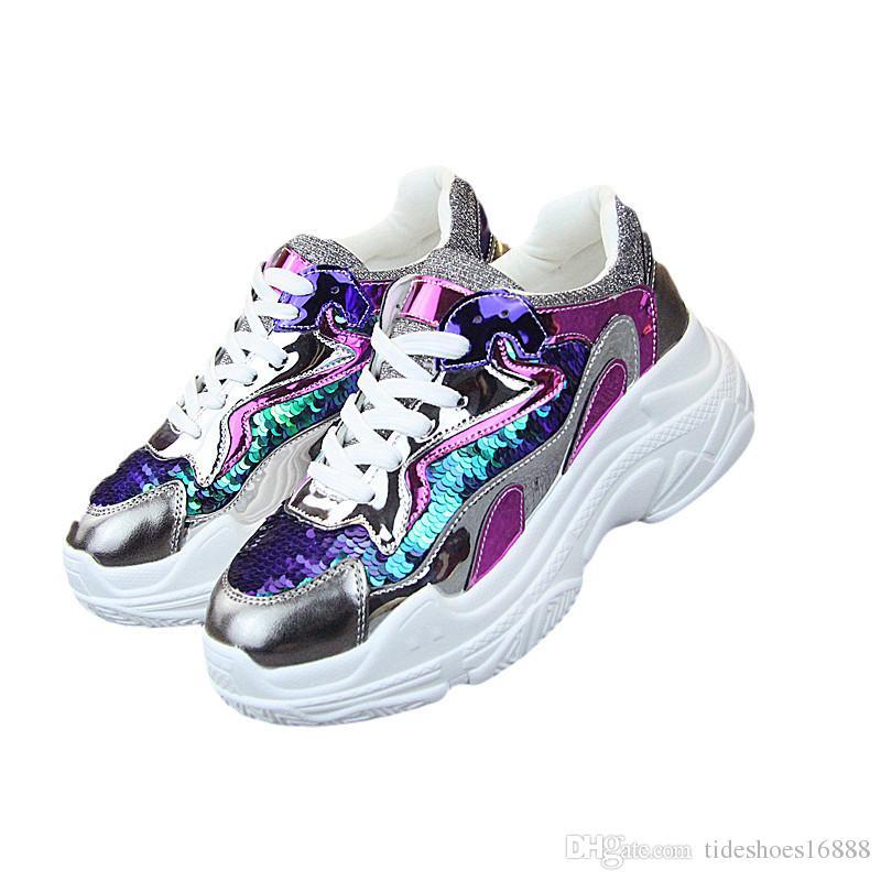 97c48b33702 Platform Sneakers Women Casual Shoes Women Flats Trainers Ladies Platform  Sneaker Espadrilles Zapatillas Mujer Designer Shoes Footwear Sport Shoes  From ...