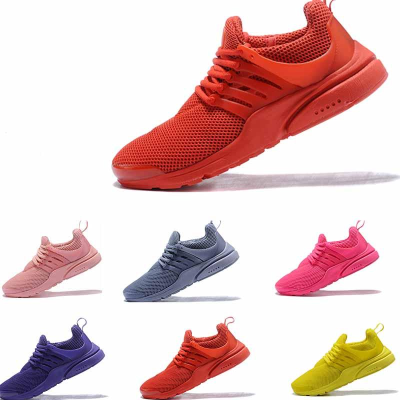 8262f647e06a44 Europe Most Popular Designer PRESTO 5 BR QS Men Women Tripel Black Red  Yellow Mens Womens Trainer Jogging Shoes Eur 36 45 Women Shoes Mens Sandals  From ...
