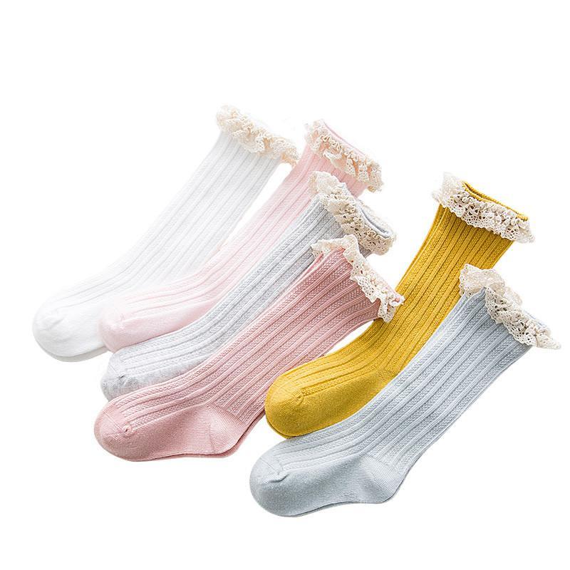 ca9936dc2b61b Children'S Knee High Socks With Lace Cheap Stuff Ruffle Socks Kid Princess  Girls Baby Leg Warmers Cotton Popular Socks Interesting Socks From  Breadfruiter, ...