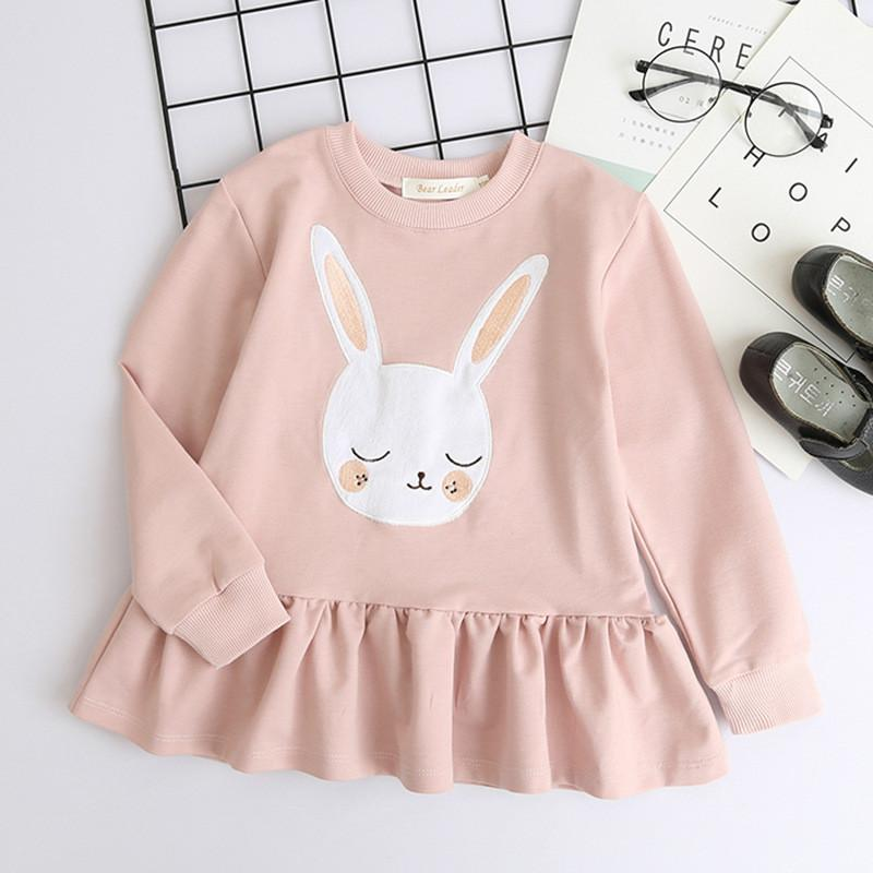 42123a19f New Arrival Baby Girls Dresses Easter Girls Bunny Soft Cotton Short ...