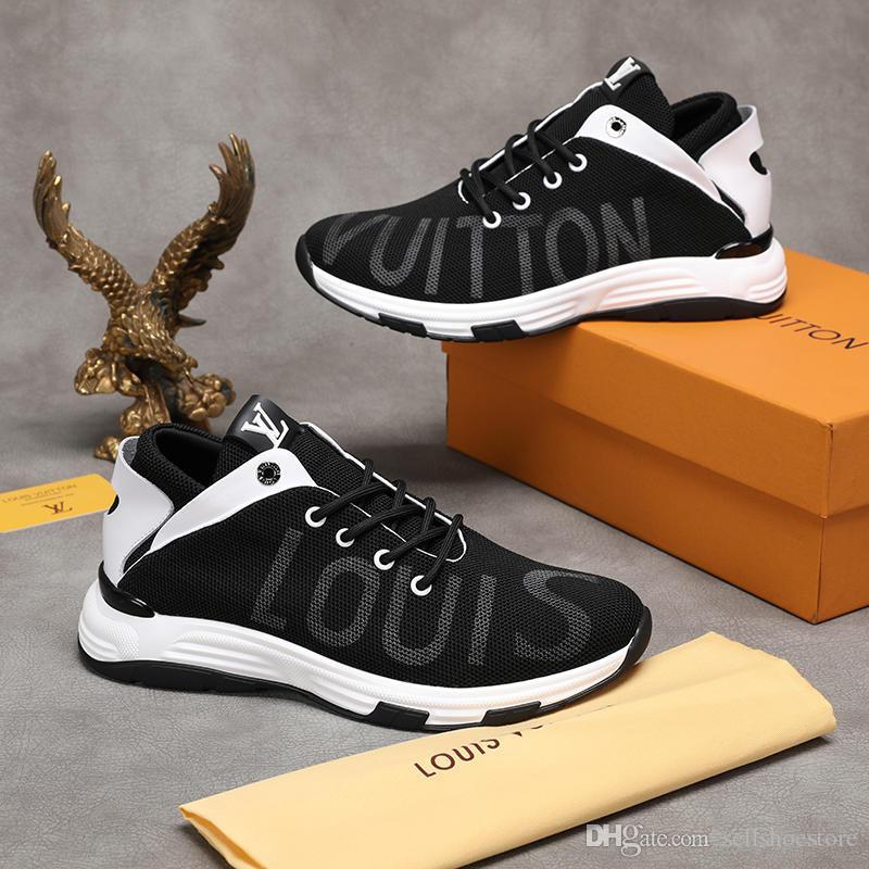 8bf6e0212 Compre DOLCE GABBANA Preto E Cinza Sneakers Melhor Qualidade Em Couro  Impresso DG Branco Ace Sapatos Para Homens Sapatos Tamanho 35 44 De  Sellshoestore, ...