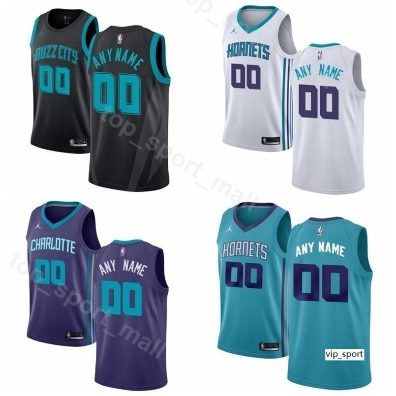 sale retailer e0254 3bb6f Men Youth Women Print Basketball Hornets Kemba Walker Jersey Jeremy Lamb  Marvin Williams Cody Zeller Malik Monk Tony Parker Shirts