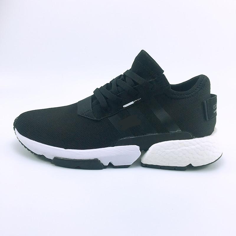 c2e9cb77e3a Acheter Originals Nouveau Créateur De Mode P.O.D S3.1 SYSTEM Sport Chaussures  De Course Hommes Femmes Pod S 3.1 Triple Noir Bleu Tennis Sneakers De   77.16 ...