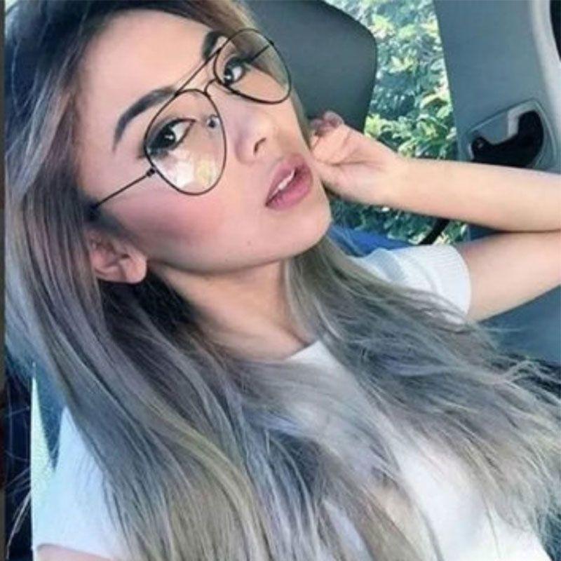 b44b741879fb 2019 WISH CLUB Fashion Retro Eyeglasses Classic Metal Pilot Clear Lens  Glasses Unisex Men Women Fashion Eyewear Silver Gold Eye Glass From  Ericgordon