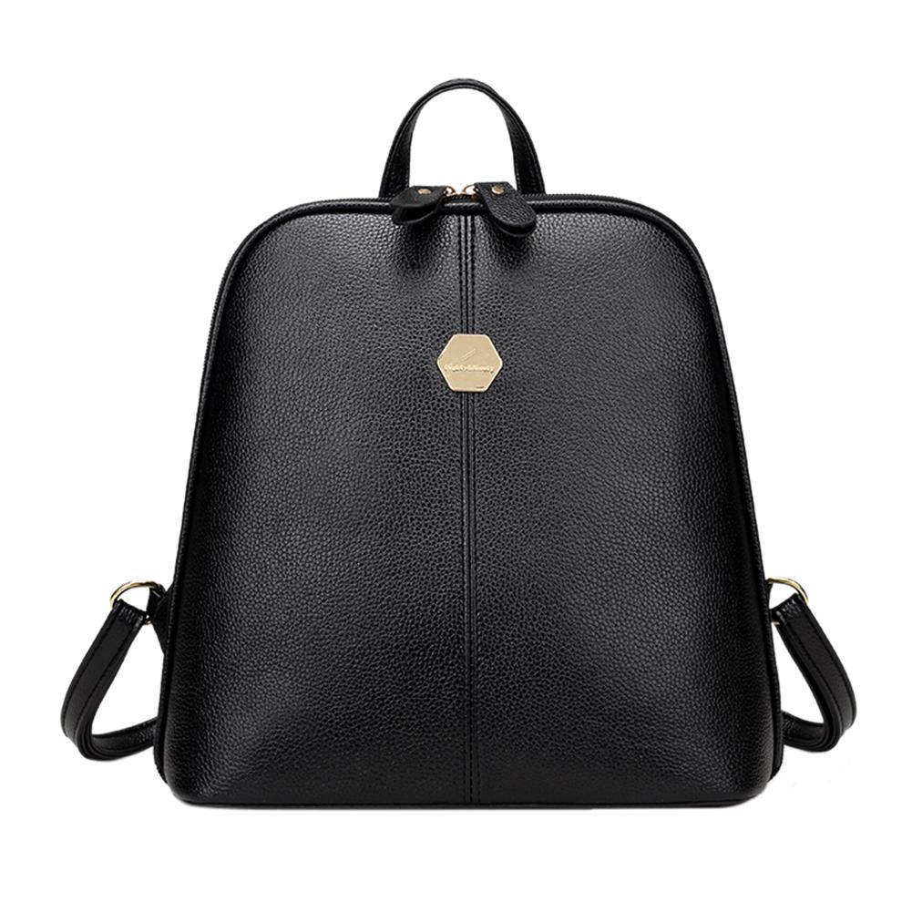 0b3c53b778 2019 FashionNew Fashion Women PU Leather Backpack Mini Backpack Rucksack  Girls School Bag For Teenager Girls Mochila Shoulder Bagpack Female Justice  ...