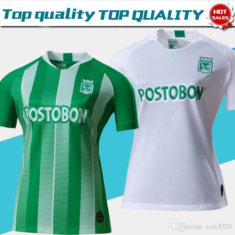 f769ac8e3 2019 2019 Atletico Nacional Medellin Soccer Jerseys 19 20 Medellin Home  Green Away White Football Shirts Colombian Primera A Soccer Shirt On Sale  From ...