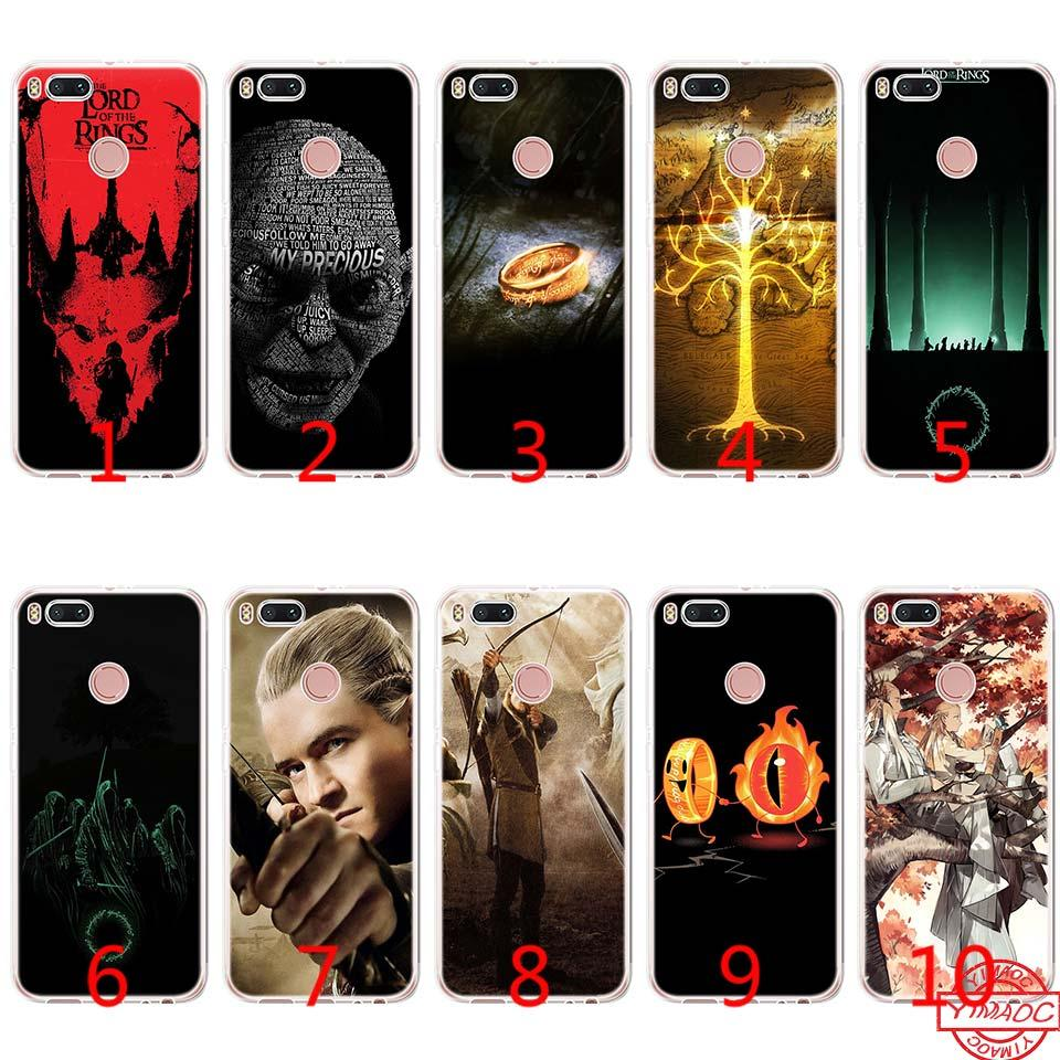 new product 64d7a 1702b LORD OF THE RINGS Soft Silicone TPU Phone Case for Xiaomi Mi A2 Lite A1 5X  6X 8 SE 6 Mix 2S Cover