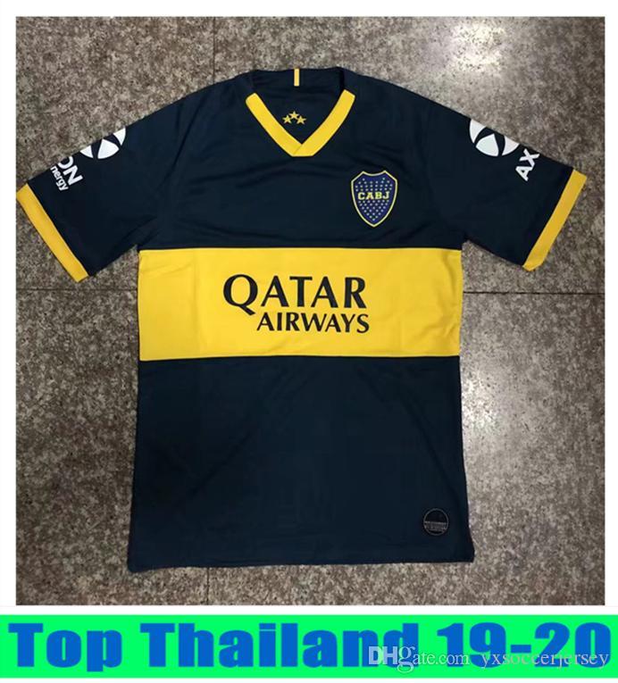 huge discount 5b188 e0a43 Thailand 2019 2020 Boca Juniors Soccer Jerseys 19 20 GAGO TEVEZ CARDONA  BENEDETTO Mens Football t-shirts Boca Junior PAVON camiseta de futbo