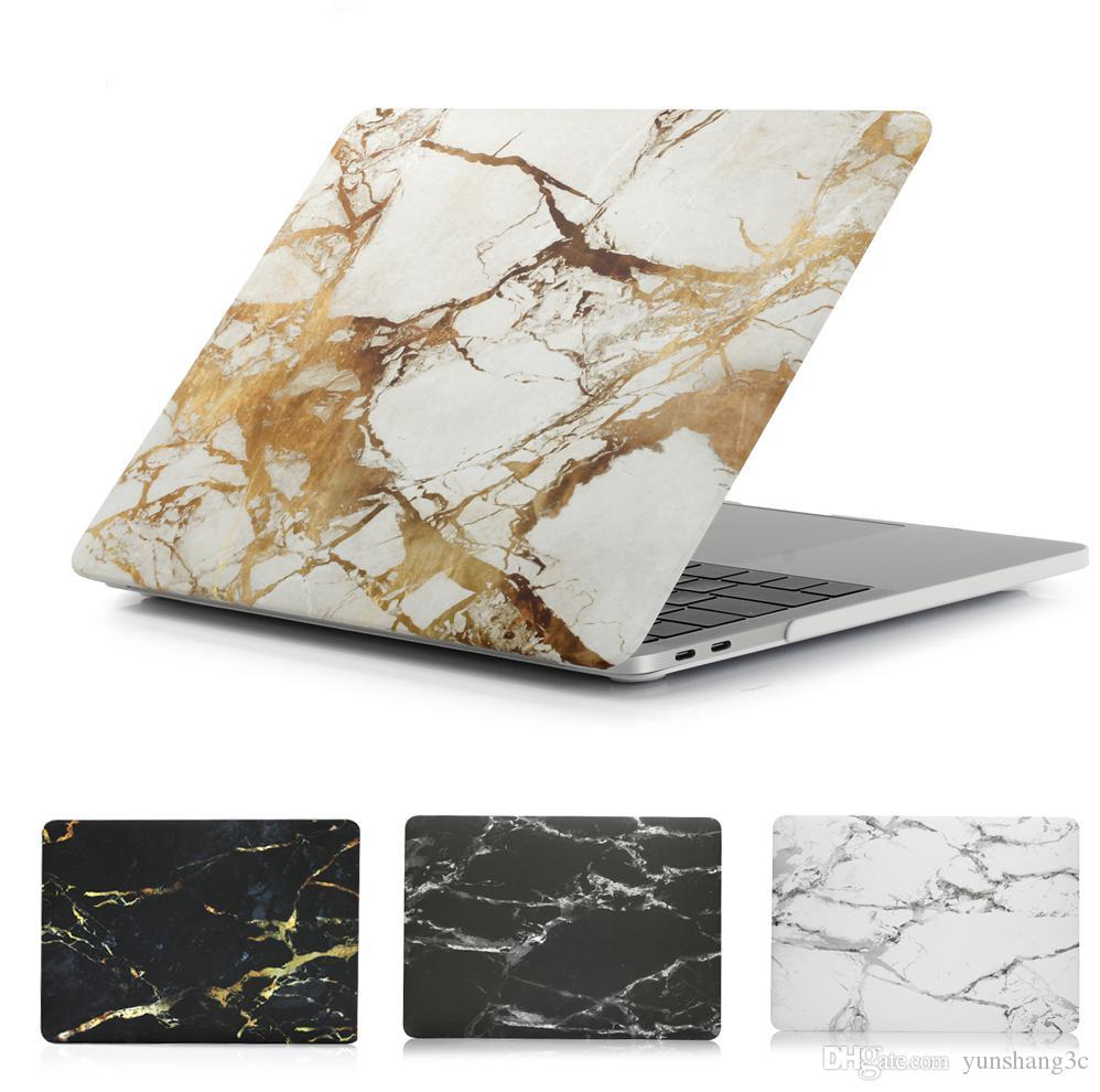 Painting Hard Case Cover Starry Sky/Marble/Camouflage Pattern Laptop Cover for MacBook Pro 13'' A1706 A1989 with touch bar Laptop Case