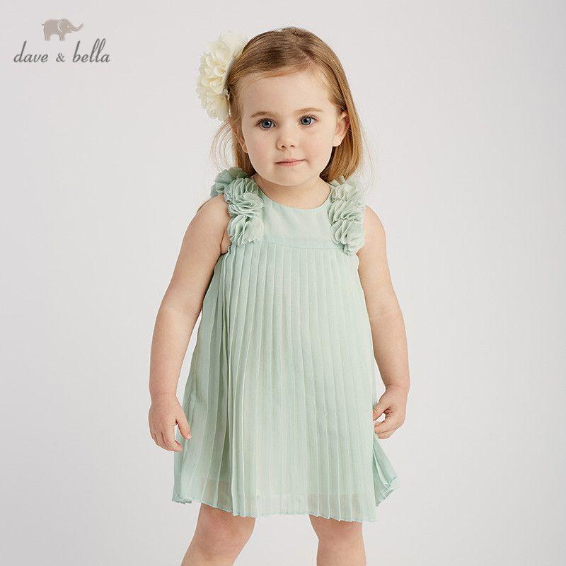 ac6865dc692eb DB10206 dave bella summer baby girl s princess cute floral dress children  fashion party dress kids infant flower lolita clothes