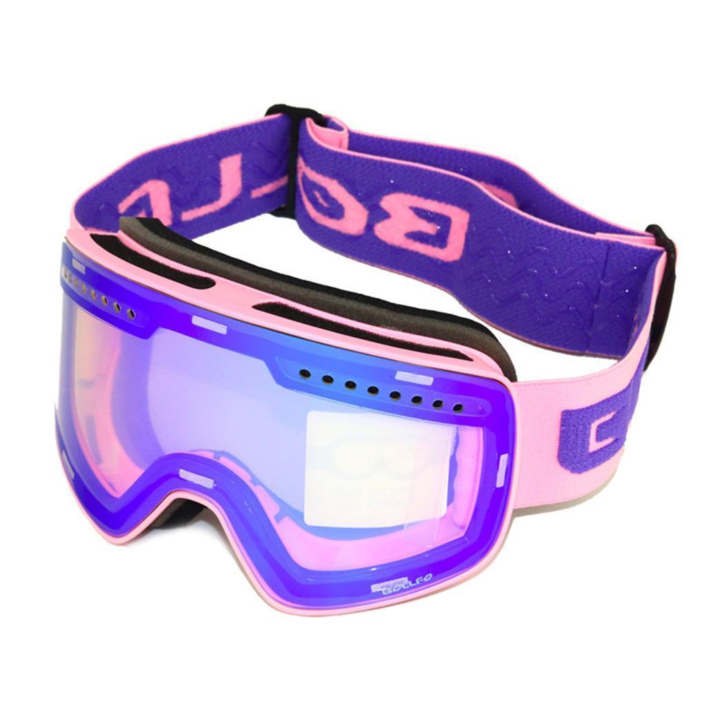 07a8cf1917e5 New Ski Goggles Double Lens UV400 Anti-fog Adult Snowboard Skiing Glasses  Women Men Snow Eyewear Skiing Eyewear Cheap Skiing Eyewear New Ski Goggles  Double ...