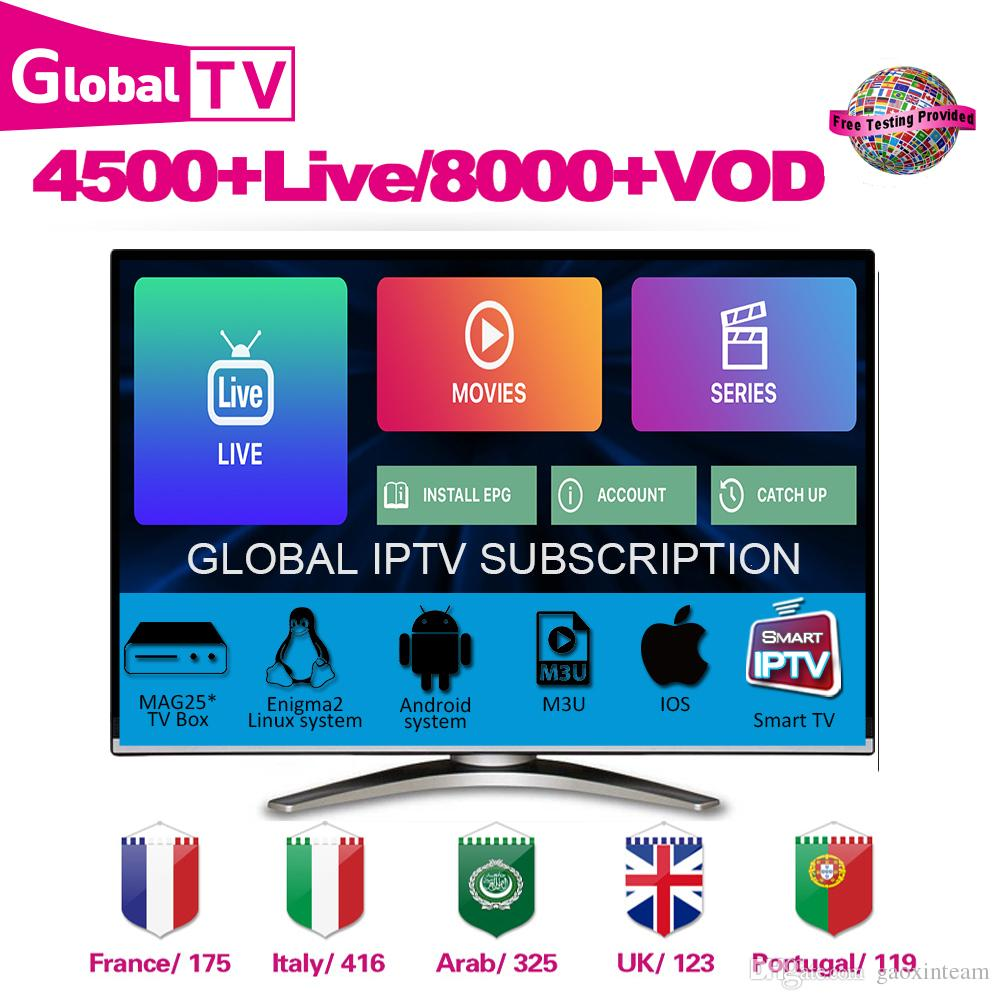 IPTV Smarters Global IPTV Subscription Movie Sport Adult Kid New Channel  For Android M3U IOS Canada US Italy France UK Arabic Reseller panel