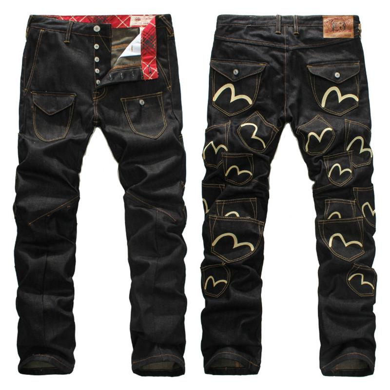 a1ce6d2e9df 2018 New Fashion Brand Casual Mens Jeans M Printing Youth Luxury ...