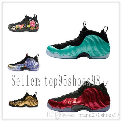 de89f7efaf30b 2019 Penny Hardaway Abalone Mens Basketball Shoes Foams One Habanero Red  Island Green Eggplant Copper Metallic Red Trainers Sneakers From  Brand270shoes97
