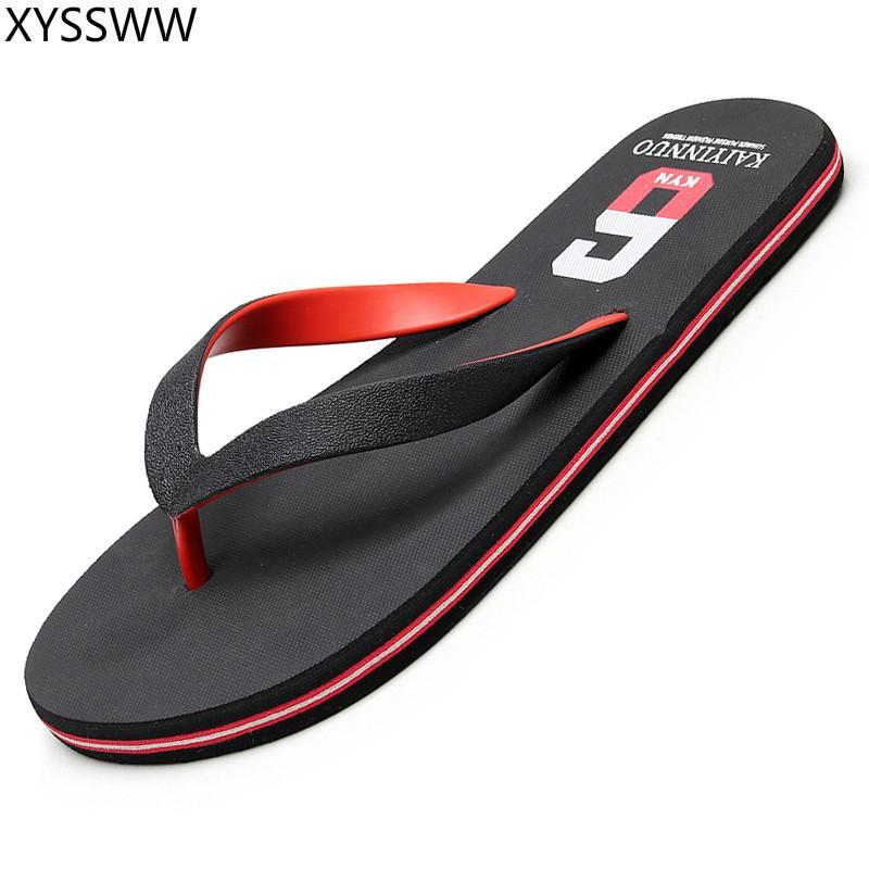 a31e41e36 Cheap Summer Men Flip Flops Bathroom Slippers Men Casual PVC EVA Shoes  Fashion Summer Beach Sandals Size 38~45 Zapatos Hombre Suede Boots Black  Boots For ...