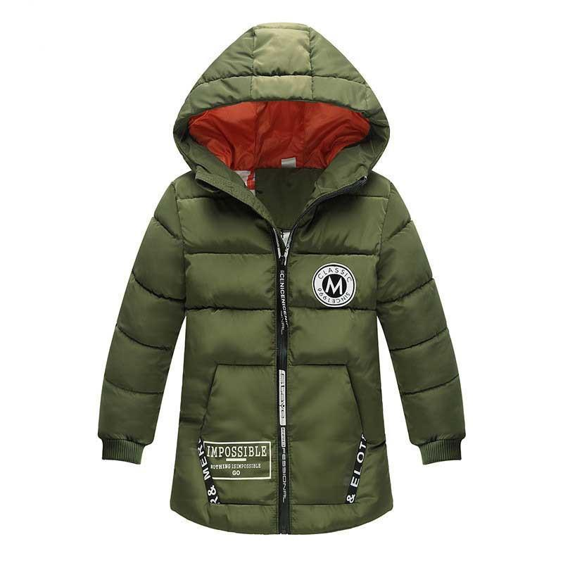 47bc7821b BibiCola New Boys Winter Sports Cotton Jacket Boys Baby Warm Thick ...