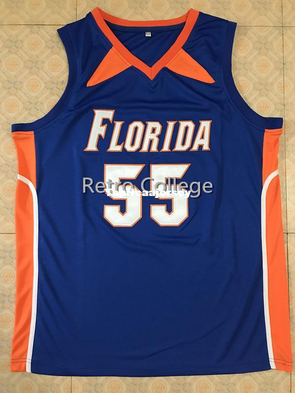 3d8ce39746d 2019  55 Jason Williams Florida Gators White Blue Basketball Jersey All  Size Embroidery Stitched Customize Any Name And Name XS 6XL Vest Jerseys  From ...