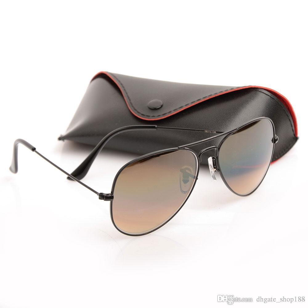 6ce3502fe1 Brand Designer Sunglasses Gradient Glass Lens Men Women Sun Glasses  Designer Pilot Glasses Gradient Eyewear 58mm With Original Cases And Box  Reading Glasses ...