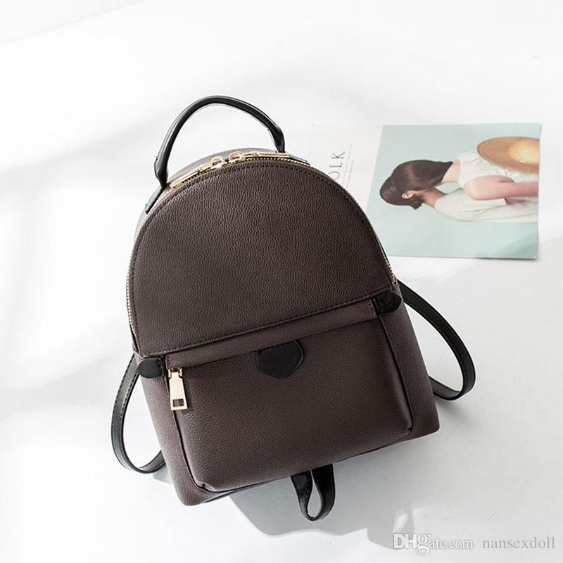 923fdf02b422 Mono Mini Backpack Luxury Brand Fashion Classic Soft Canvas Backpack  Designer Cow Leather Mini 15cm Cute Small Backpack Free DHL Backpacks For  College ...