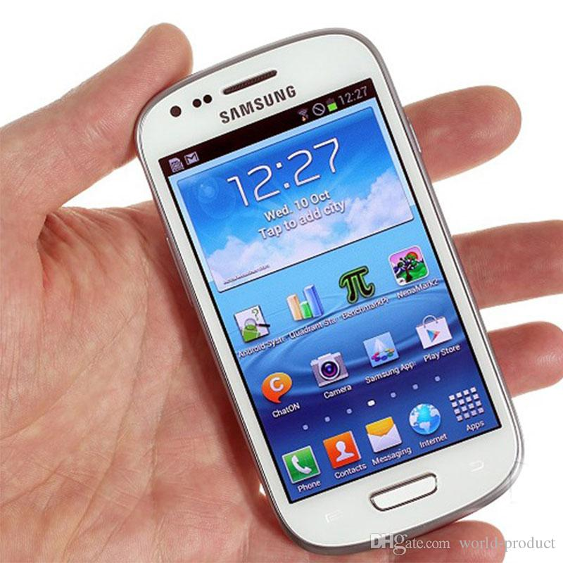 460c359a9a4 Movil Barato Libre Oridinal Samsung Galaxy S3 Mini I8190 4.0 Pulgadas  Reacondicionado 480 X 800 GSM 3G De Doble Núcleo Para Teléfono Móvil WIFI  GPS 1G 16GB ...
