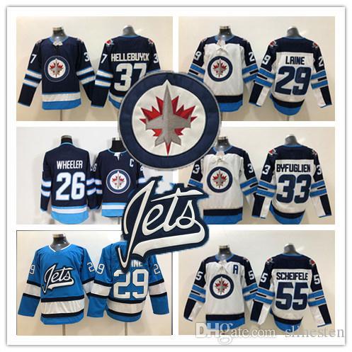 2019 Winnipeg 29 Patrik Laine 25 Paul Stastny 33 Dustin Byfuglien 55 Mark  Scheifele 37 Hellebuyck 26 Wheeler Men S Third Alternate Jerseys UK 2019  From ... 762aa24aa