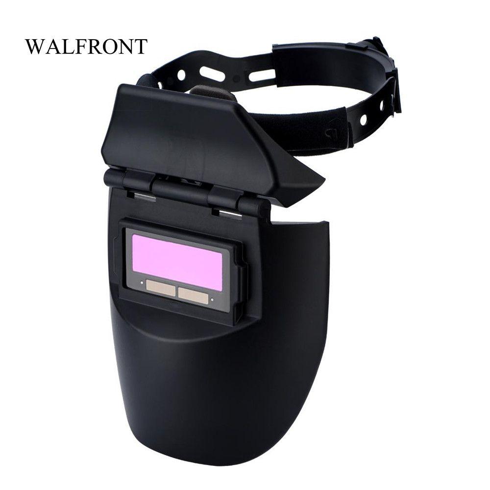 6363ff8e4a146 Compre Solar Auto Escurecimento Capacete De Soldagem Elétrica Máscara De Solda  Óculos De Soldador Sombreamento Cap Olhos Protetor Lente De Polimento De ...