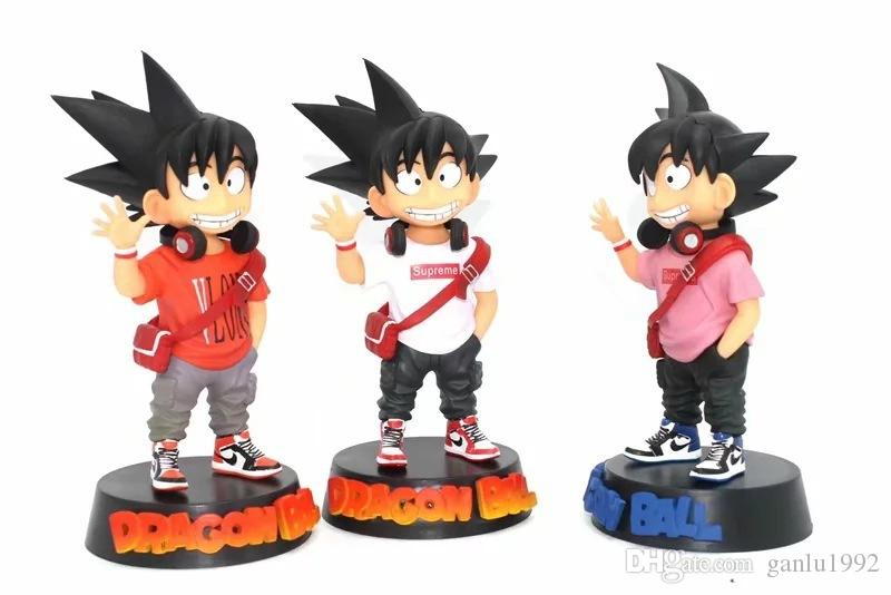 Dragon Ball Figures Tide Brand Red White Model Toys Ornament Smiling Face Q Version Figurine Box Packed Boy Gifts 31ol N1