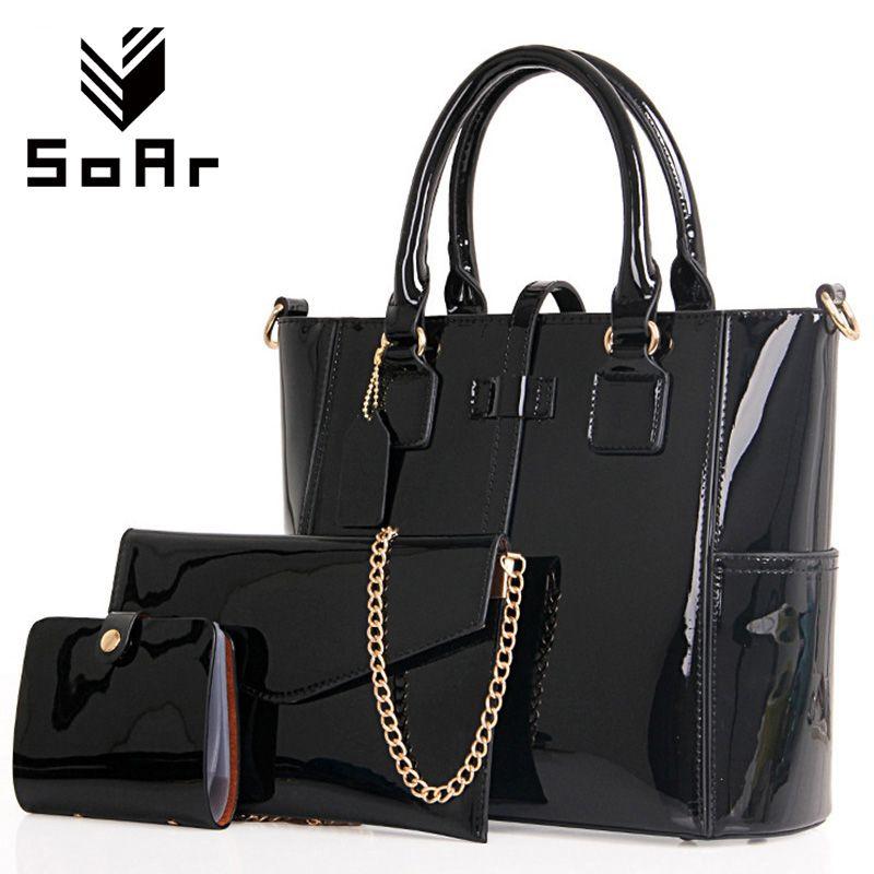 SoAr Women Handbag Luxury Leather 2017 Women Bag Famous Brand ... 2e308e27f3817