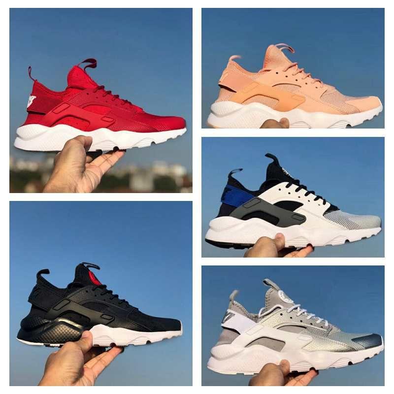 sale retailer 81f69 7cd91 Air Huarache Ultra ID Custom Running Shoes For Men Women,Mens Hurache Red  Multicolor Navy Blue Tan Denim Huaraches Sports Huraches Sneakers Sandals  For ...
