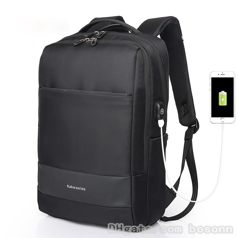 81dad7fbd Business Laptop Backpack,Waterproof Backpack with USB Charging Port,College  School Backpack for Men fits 15.6 Inch Laptop (Black)