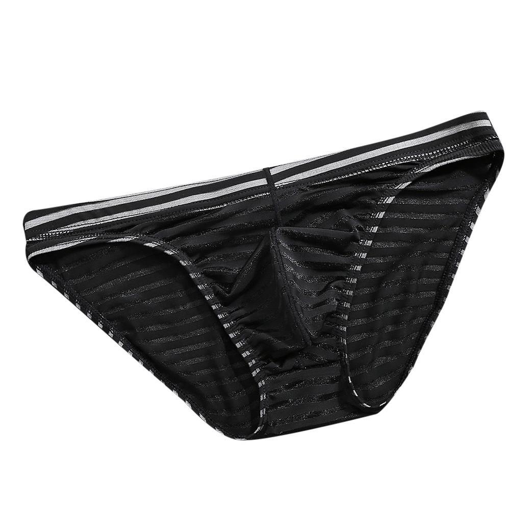 bcb807187095 YOUYEDIAN Men's Underwear Striped Underwear Seamless Panties Ice ...