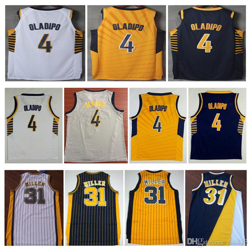 fd8bd5b0491 2019 New Stitched 4# Victor Oladipo City Basketball Jersey #31 ...