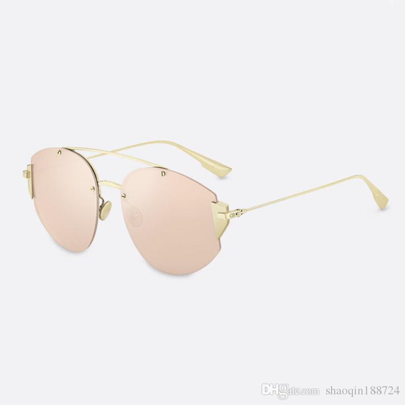 f2c37b81d Compre Venda Quente 2019 Nova Marca Óculos De Sol Mais Forte Moda Óculos De  Sol Mulheres Marca Designer Verão Óculos De Sol Adultos Óculos Aviador  Óculos De ...