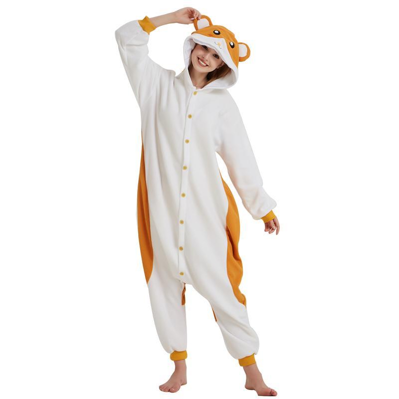 f4f369f6df Compre Suave Kigurumi Polar Fleece Cosplay Traje Animal Ropa De Dormir  Pijamas Adulto Onesie Fiesta De Carnaval De Halloween Mono A  22.49 Del  Home5 ...