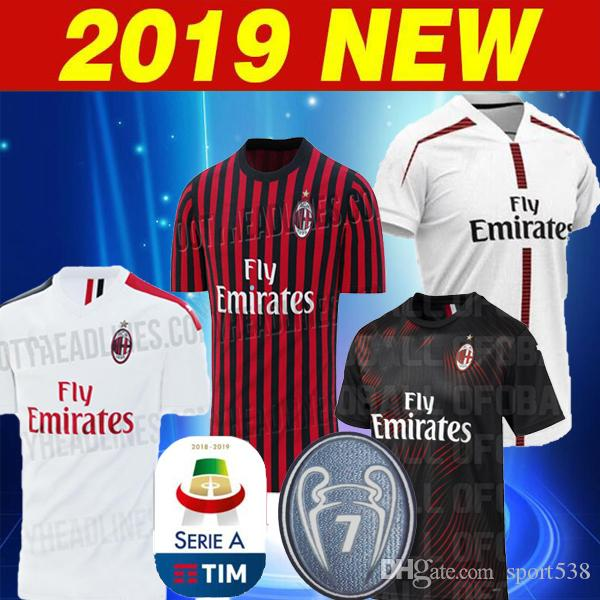 2019  19 PIATEK 19  20 AC Milan HOME Set 7 Cups Soccer Jersey 2019 2020  Milan White HIGUAIN PAQUETA Men S Football Shirts Size S XXL From Sport538 3834a57a9