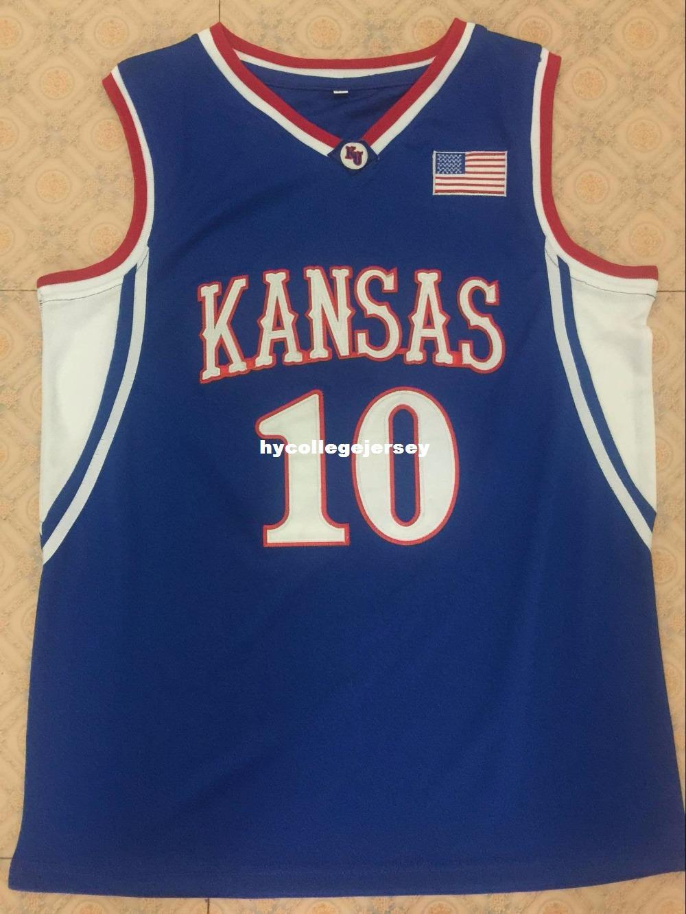 4c19d3f9b27 03-04  10 KIRK HINRICH Topps Mark Of Excellence Auto Kansas Jayhawks  Basketball Jersey Customize Any Number And Name S-6XL Vest Jerseys Ncaa  Cheap ...