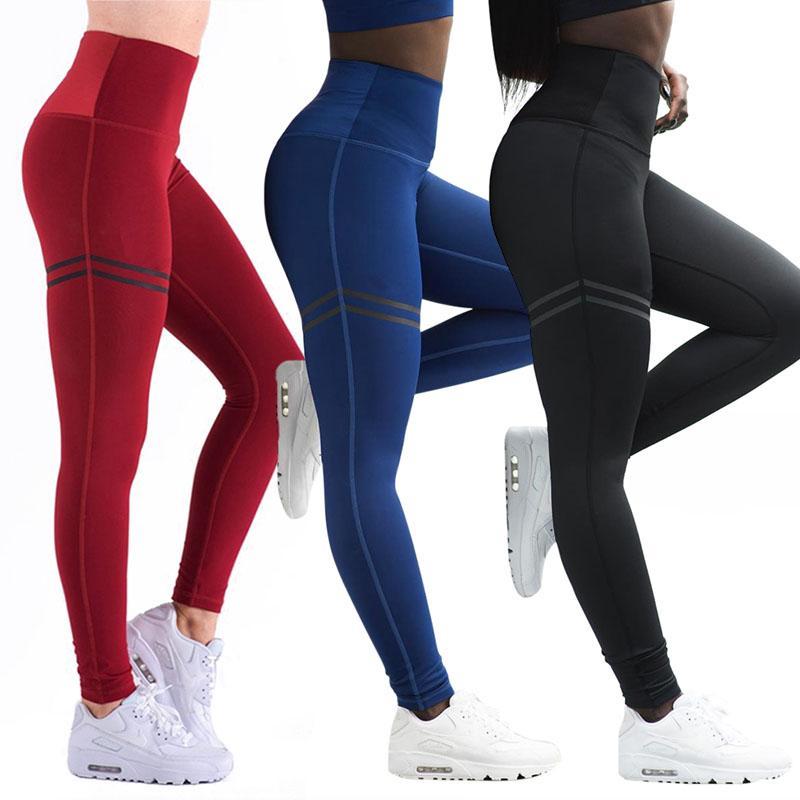 5d9244f2ee5799 2018 Women Sport Pants Sexy Push Up Gym Sport Leggings Women Running ...