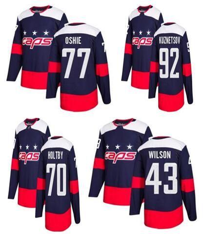 huge discount 45baa 36907 Men s Washington Capitals #92 Kuznetsov Navy 2018 Stadium Series Stitched  Jersey,men 8 Ovechkin 77 Oshie 70 Holtby 43 Wilson Hockey Jerseys