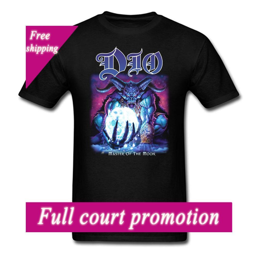 Dio Meester Van De Maan Mannen En Vrouwen T Shirt Ronnie James Tee