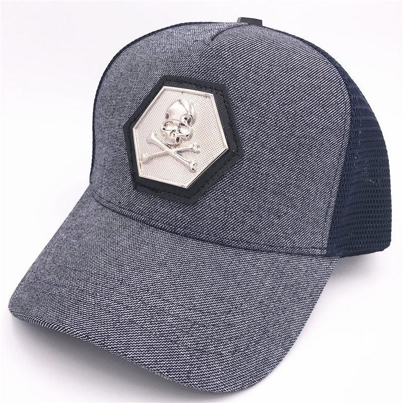 410cfddb9 Skull Ball Caps Fashion Design Unisex Caps Luxury Brand Baseball Hats Men  and Women Golf Snapback Cap Casquette Bone De Beisebol