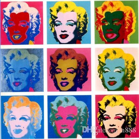 Grosshandel Andy Warhol Marilyn Monroe Handgemalte Hd Druck Beruhmte