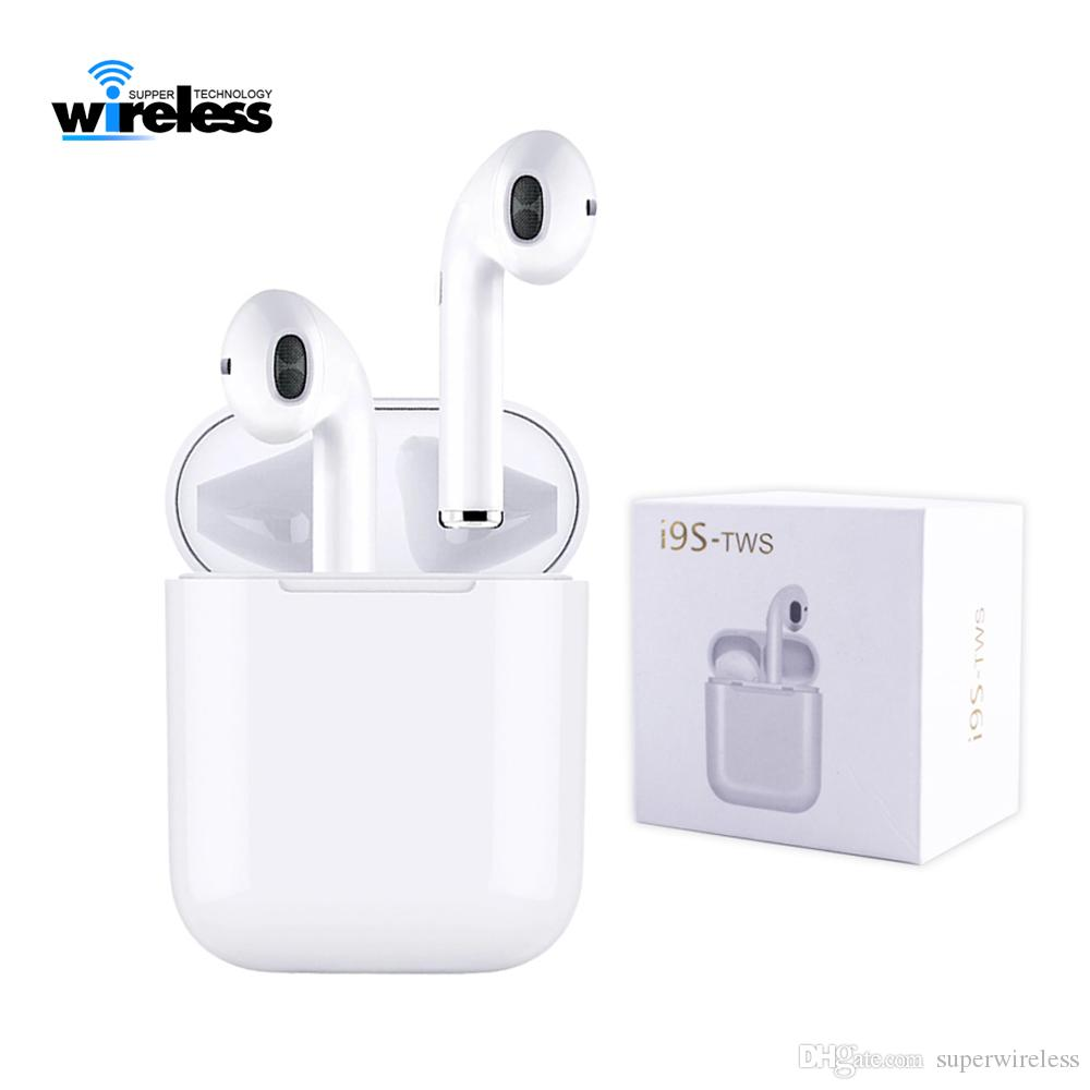 b24ae98dd65 I9s TWS Bluetooth 5.0 Mini Bluetooth Wireless Earphones Headphone Earbuds  Support Pop Up Window Headsets Android For Smart Mobile Phone Wireless  Headset ...