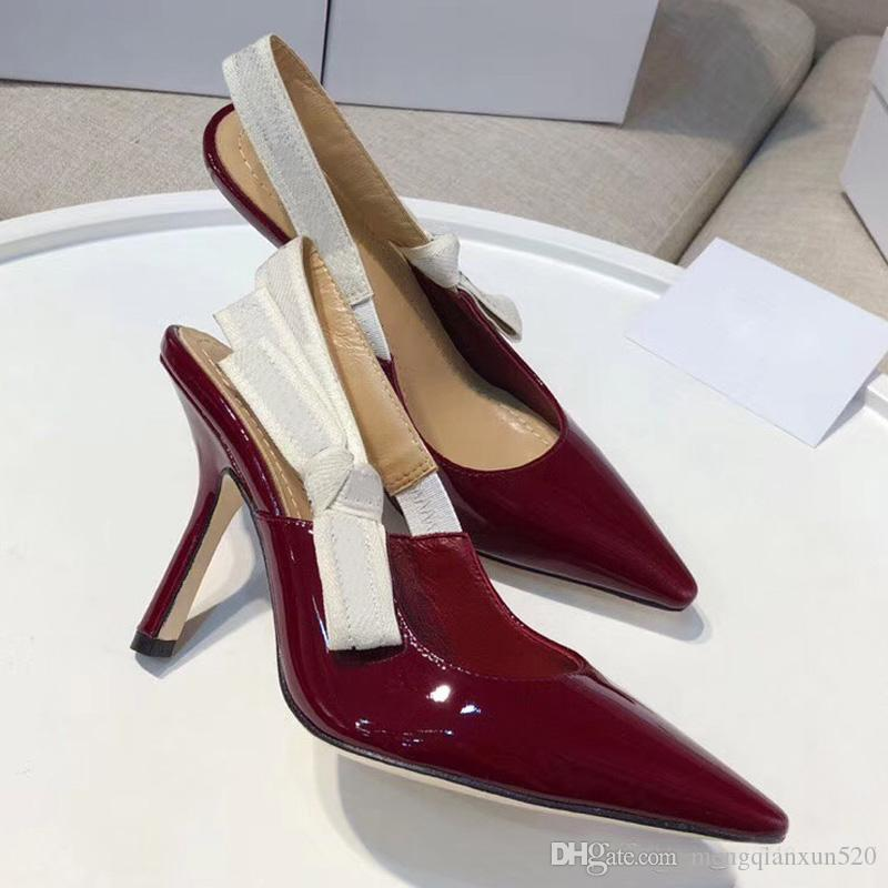 Модные сексуальные босоножки на высоком каблуке Гладиаторские женские кожаные босоножки Дизайнерская роскошь Тонкий каблук Туфли на высоком каблуке 10см Женская обувь больших размеров 42