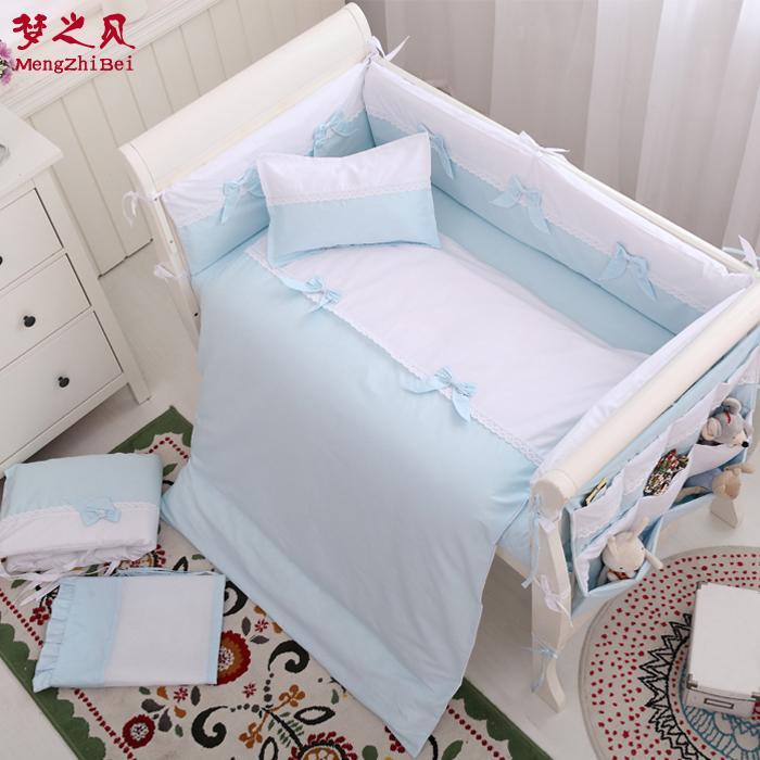 Grosshandel 7 Stucke 100 Baumwolle Baby Zaun Bettwasche Verdickung