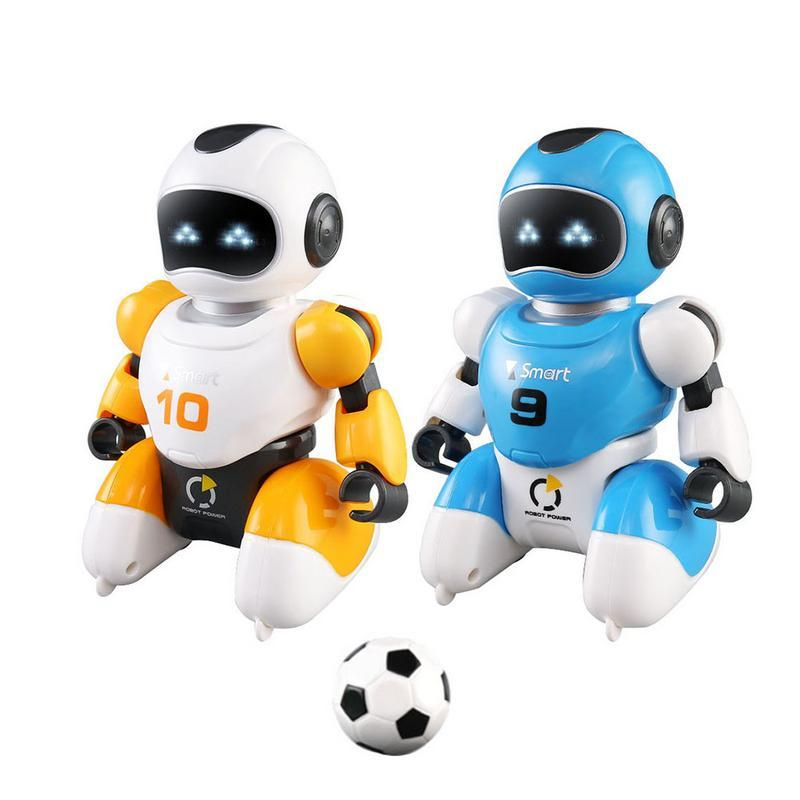 Best Robots For Kids >> 2019 Smart Remote Control Soccer Robot Toy Usb Charging Singing