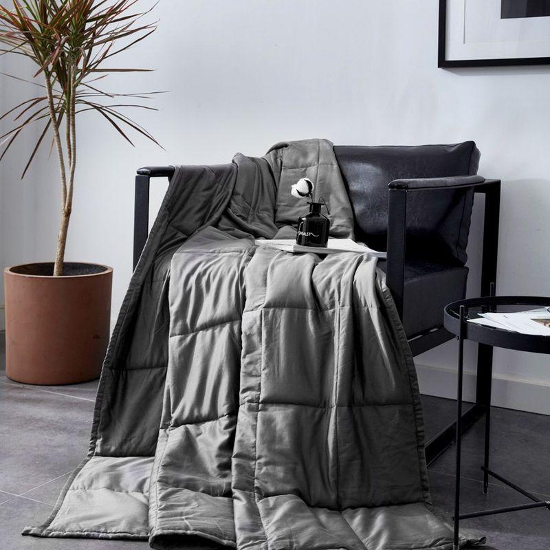 Weighted Blanket Children Kids Size 90x120cm Sleep Helper Mechanical
