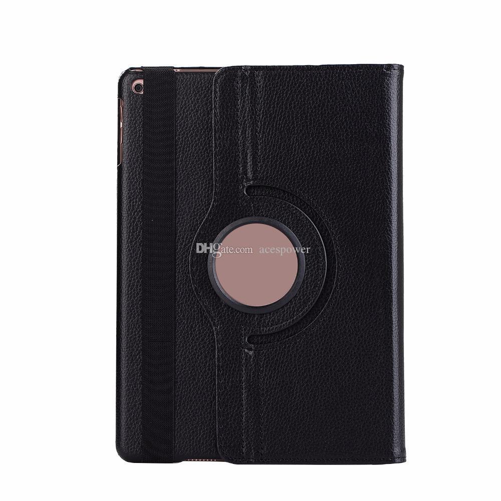 360 graus de couro girating Tablet PC Capa para ipad Mini 5 10.5 Pro 9.7 11 12.9 Smart Case
